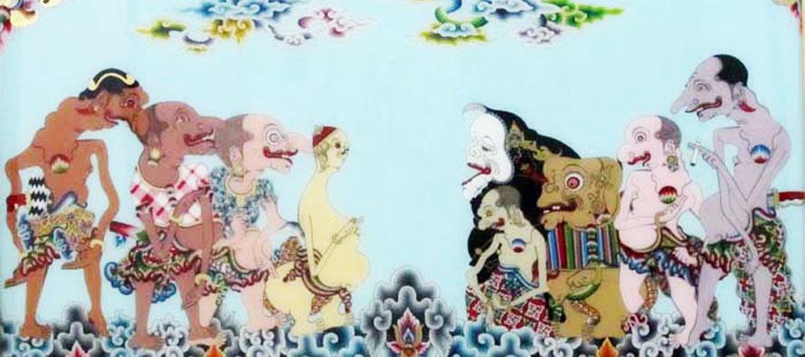 Seni Lukis Kaca Cirebon Yang Melegenda
