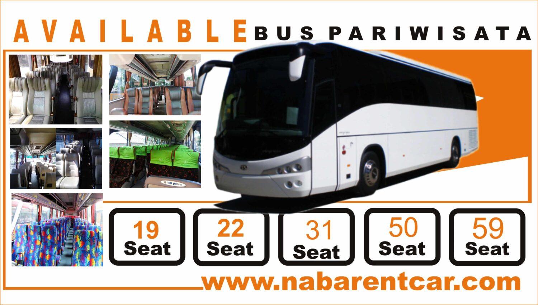 harga sewa bus pariwisata di Cirebon