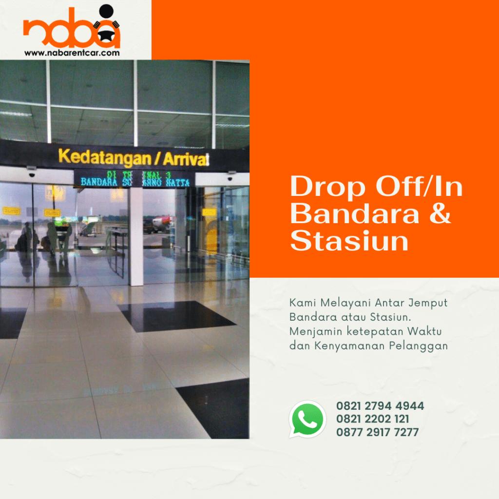 Drop Bandara/ Stasiun