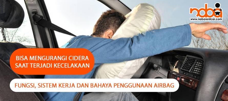 Airbag mobil bisa mengurangi Cidera saat terjadi kecelakaan!