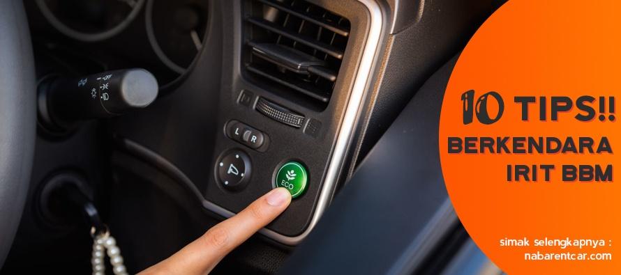 Wajib Baca! Tips Berkendara Mobil Irit BBM