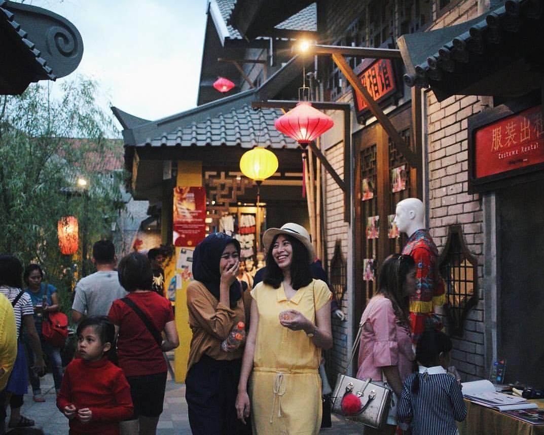 china town sewa hiace bandung