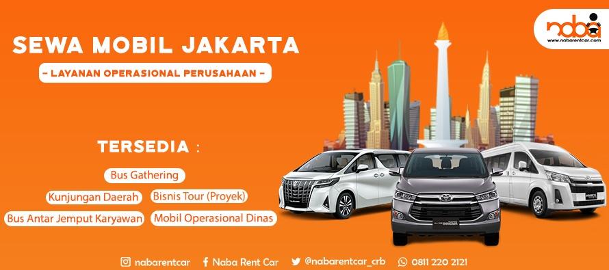 Sewa Mobil Operasional Jakarta Lengkap dan Terbaik