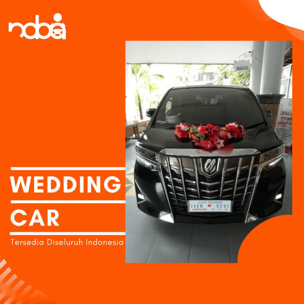 wedding car - sewa mobil pengantin