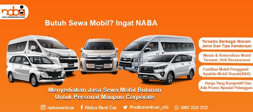 Rental Mobil Bulanan di Cirebon Terlengkap